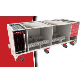 Filtru multicameral cu doua compartimente de moving bed BIG 25000  pt un iaz de pana la 25000 l