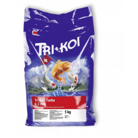 Hrana crapi Koi TriKoi Farbe 4.5 mm 5 kg sac