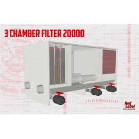 Filtru multicameral cu moving bed BIG 20000 pt iaz de pana la 20000 l